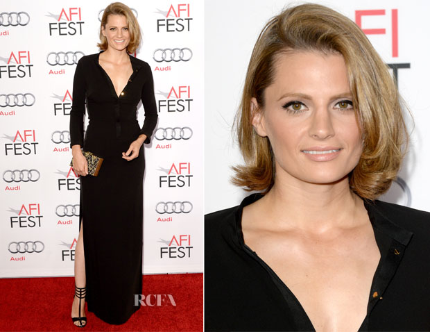 Stana-Katic-In-Halston-Heritage-'Saving-Mr